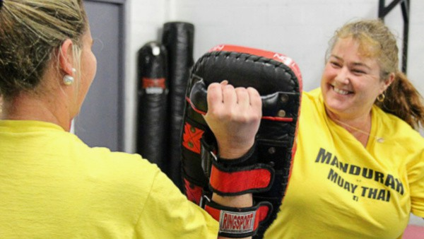 Mandurah Muay Thai Kickboxing for Ladies - Self Defence