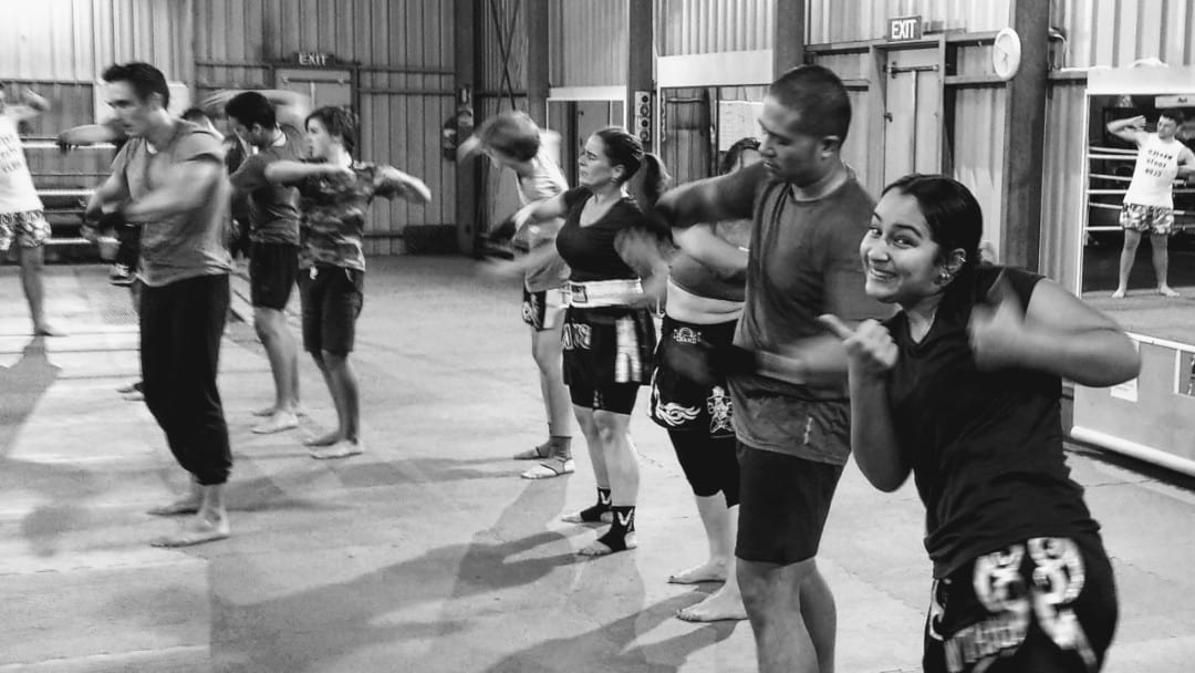 Traditional Thai Kickboxing Fun for the Whole Family